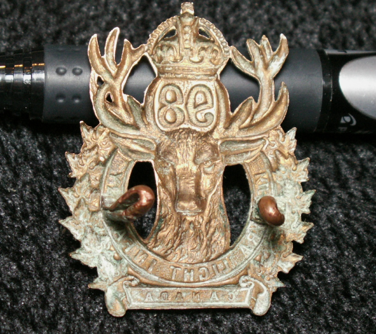 98th Kenora Light Infantry Cap Badge PICT0001_2