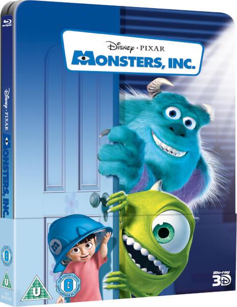 Monsters, Inc. 3D (Includes 2D Version) - Zavvi Lenticular Edition 23/12/16 11369769-2144436648804205