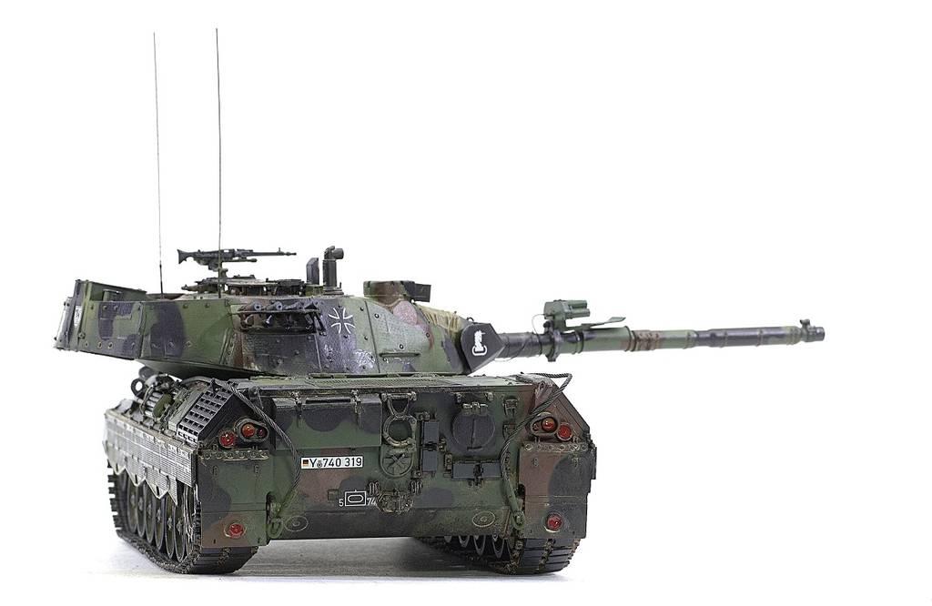 Leopard 1A5 Meng 1/35 PdJUM