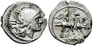 Denominación de monedas en la antigua Roma: La República. 0_0sestercio_ag