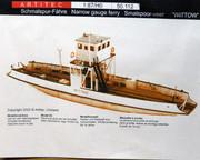 NARROW GAUGE FERRY 1/87 ARTITEC PB180079