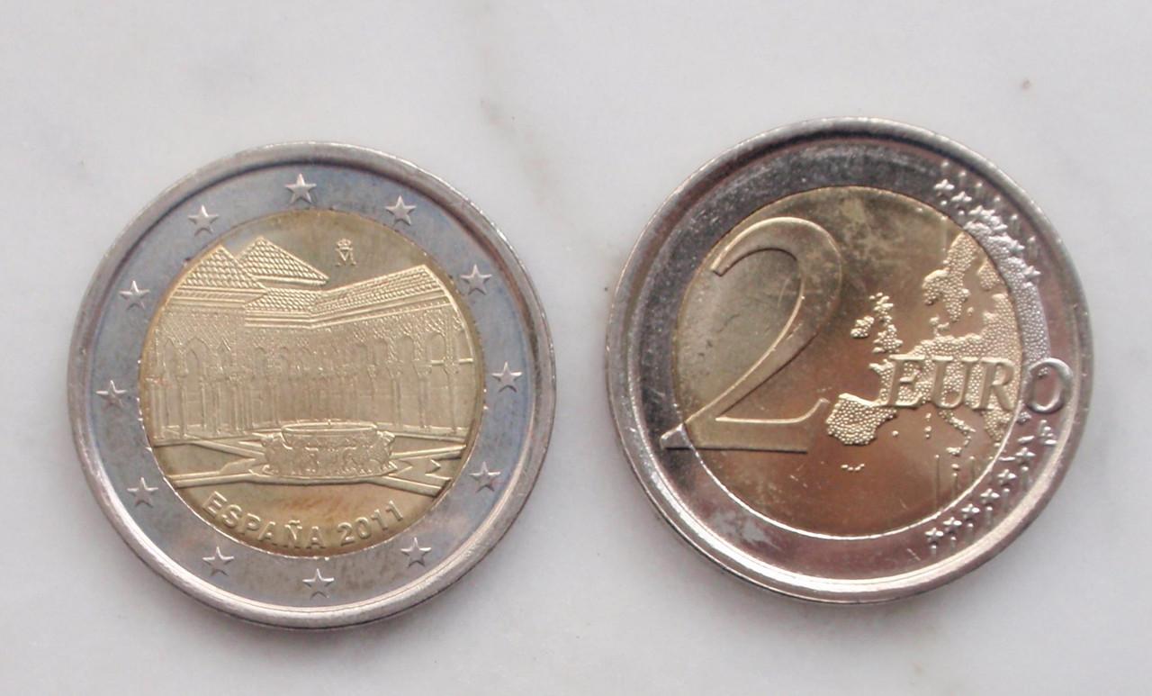 Exposición para EUROS y PRUEBAS DE EURO. Concurso. 0_2e_2011_alhambra