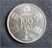 Juan Carlos I 100 pesetas España ' 82 P3140012