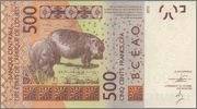 500 Francos CFA Senegal, 2012 West_African_States_Senegal_500_francs_2012_R