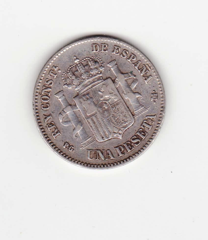 1 peseta 1891, Alfonso XIII 1_peseta_1891_001
