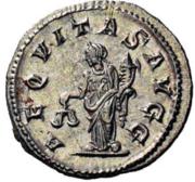 Glosario de monedas romanas. CORNUCOPIA. Image