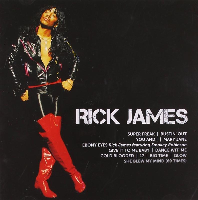Rick James Icon