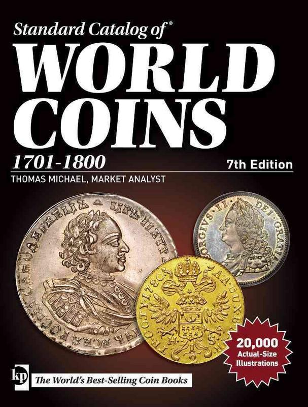 2017 Standard Catalog Of World Coins 1701-1800 Images