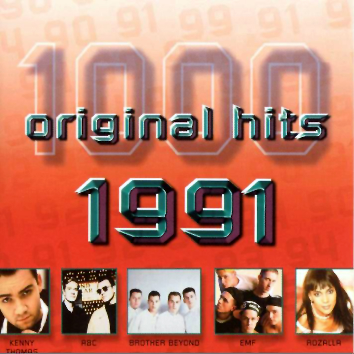 1000 Original Hits 1960-1999  - Stránka 2 1000_Original_Hits_1991_-_Front
