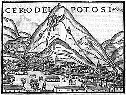 8 reales 1808 carlos IV- Potosí Cerro_de_Potos