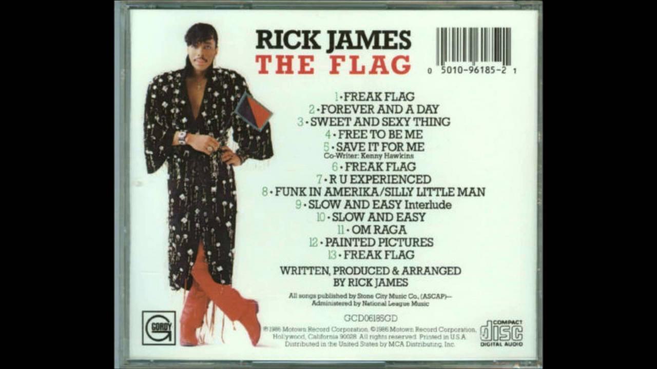 Rick James Flag_1