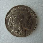 5 Cents, (Bufalo). U.S.A. 1938. Denver  Image