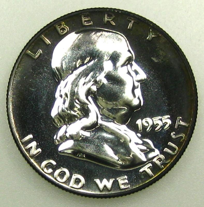 ½ Dollar (Franklin). U.S.A. 1955  KGr_Hq_FHJFIFCOPgddw_OBQo_UIqk_Qig_60_3