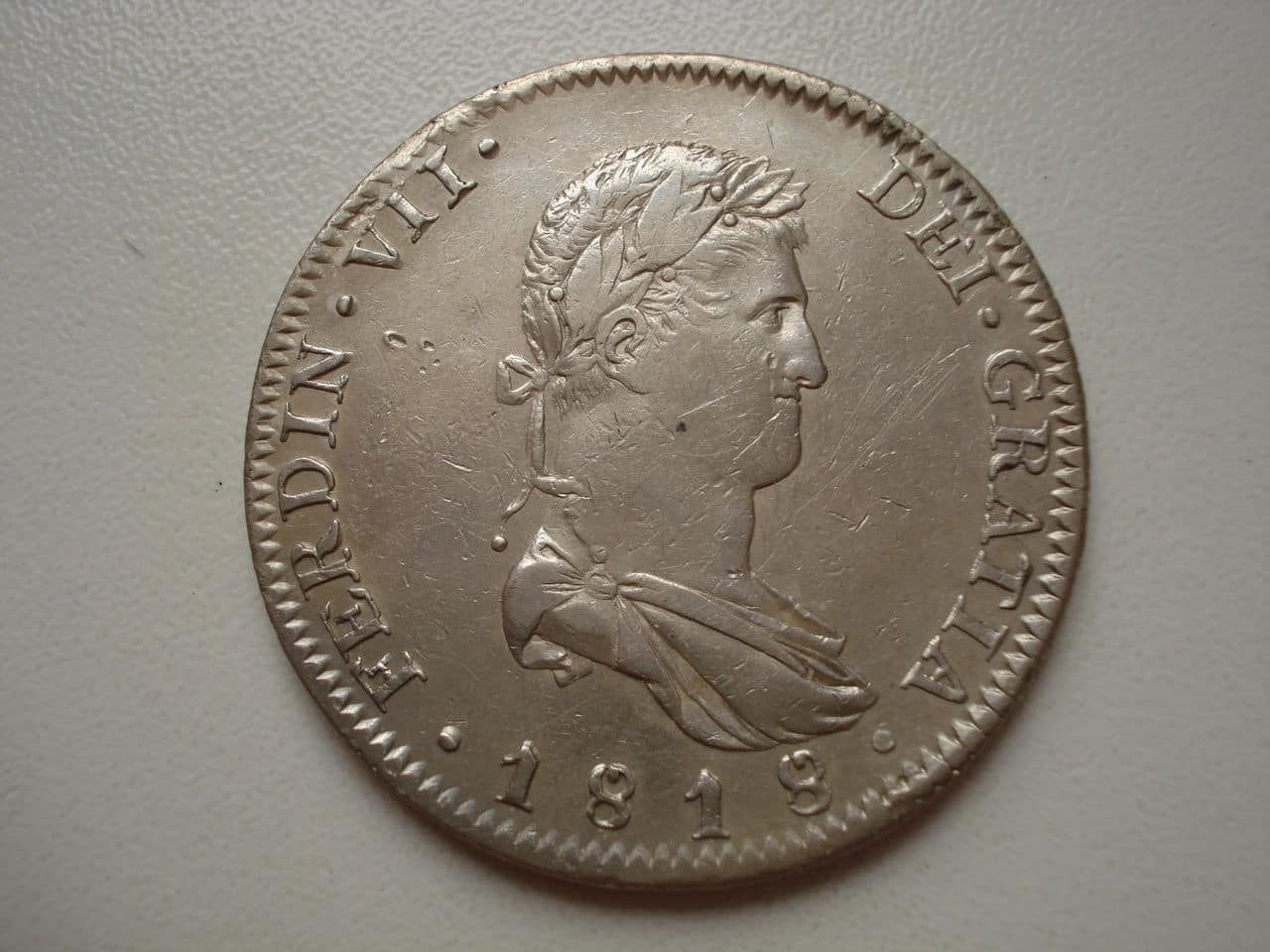 8 reales 1818 Guadalajara. Fernando VII. Guadalajara_1818_011