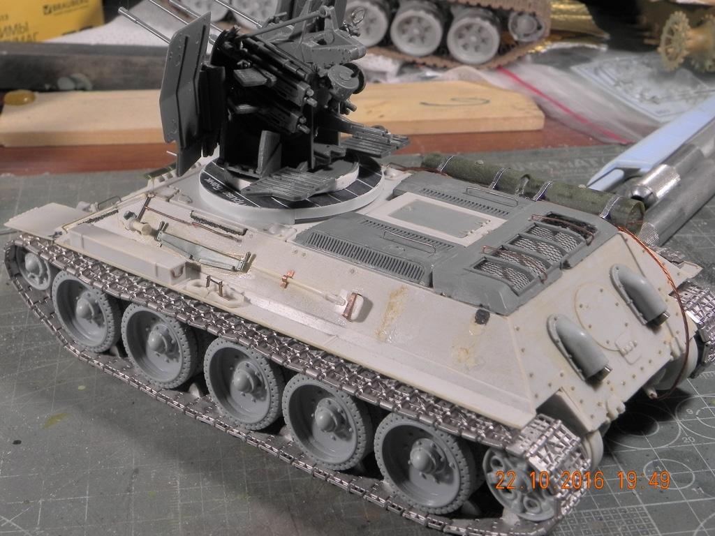 Flackpanzer 20mm T-34 DSCN7445