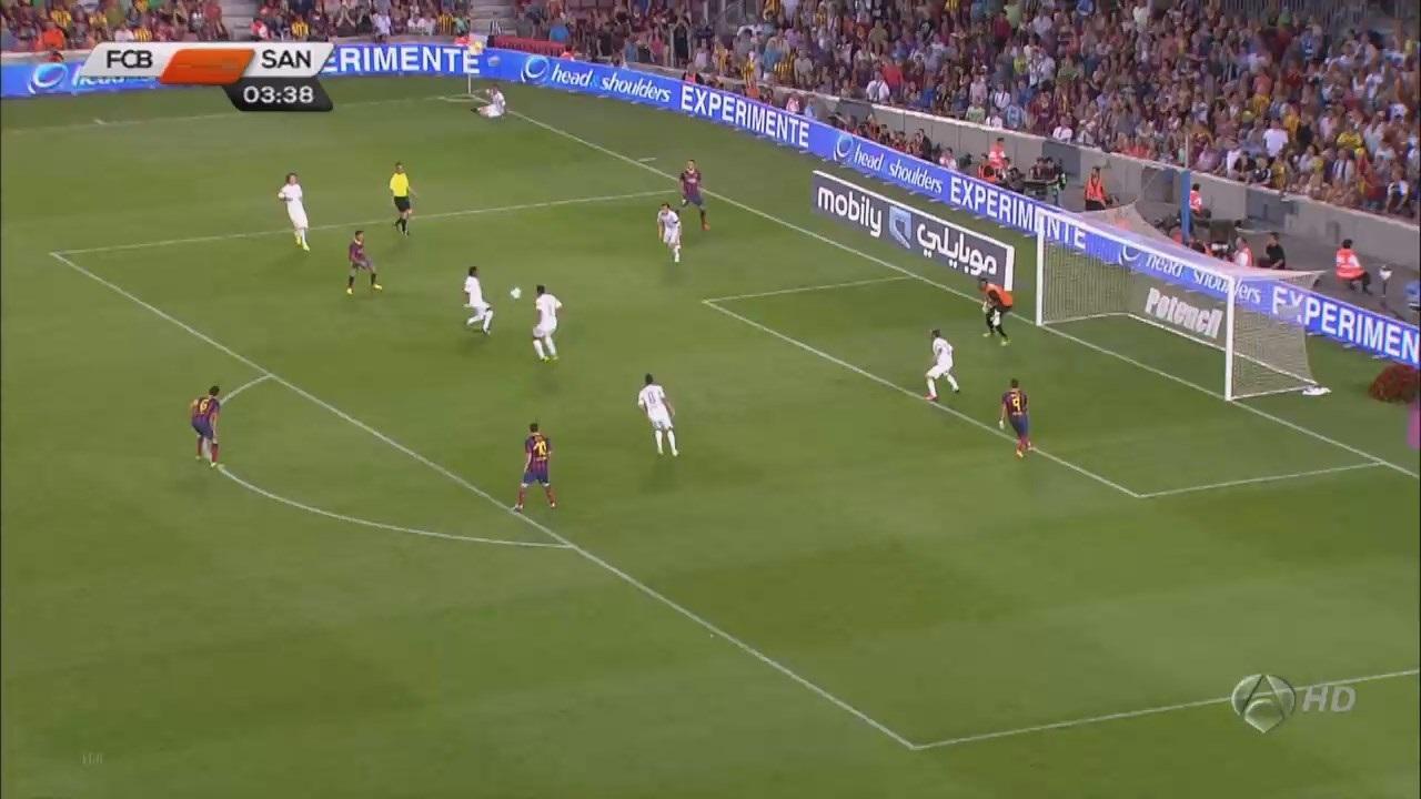 Trofeo Joan Gamper 2013 - FC Barcelona Vs. Santos (720p) (Castellano) Image