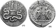 GLOSARIO MONEDAS ROMANAS. Baco, Bacchus o Líber. BACO_7_y_8