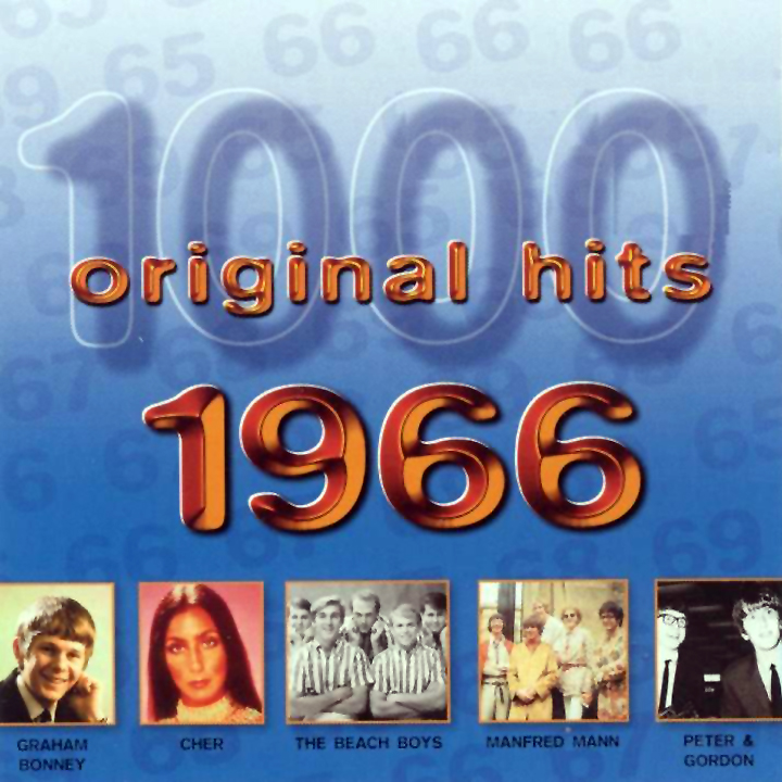 1000 Original Hits 1960-1999  1000_Original_Hits_1966_-_Front
