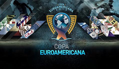 Copa EuroAmericana 2013 - Nacional de Montevideo Vs. Atlético de Madrid (480p) (Castellano)  Euroamericana2013