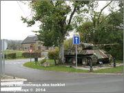 "Немецкий тяжелый танк PzKpfw V Ausf.G  ""Panther"",  rue D'Erezee, Manhay, Belgique Panther_Manhay_229"