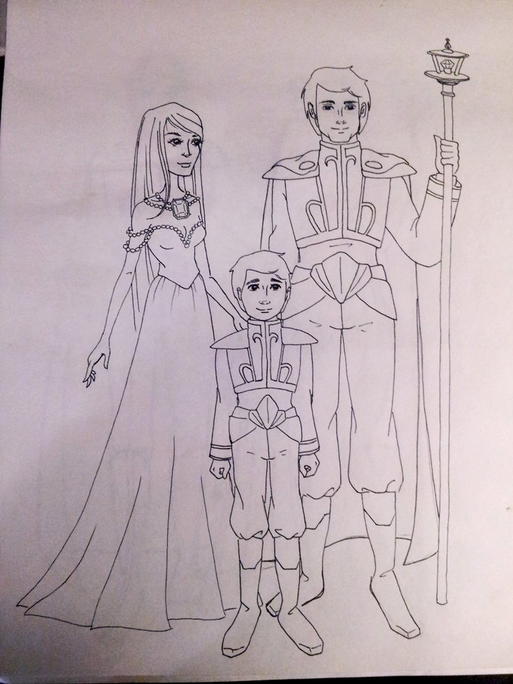 Plutonia's art stuffs (updated December 20th) Royal_Family_Earth
