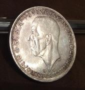 5 coronas Suècia 1935 Gustavo V IMG_4746