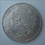 1 Sol 1895 Peru  Image