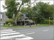 "Немецкий тяжелый танк PzKpfw V Ausf.G  ""Panther"",  rue D'Erezee, Manhay, Belgique Panther_Manhay_227"