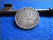 Medio dolar 1892 Comemorativa de la Expo de Chicago DSCN2286