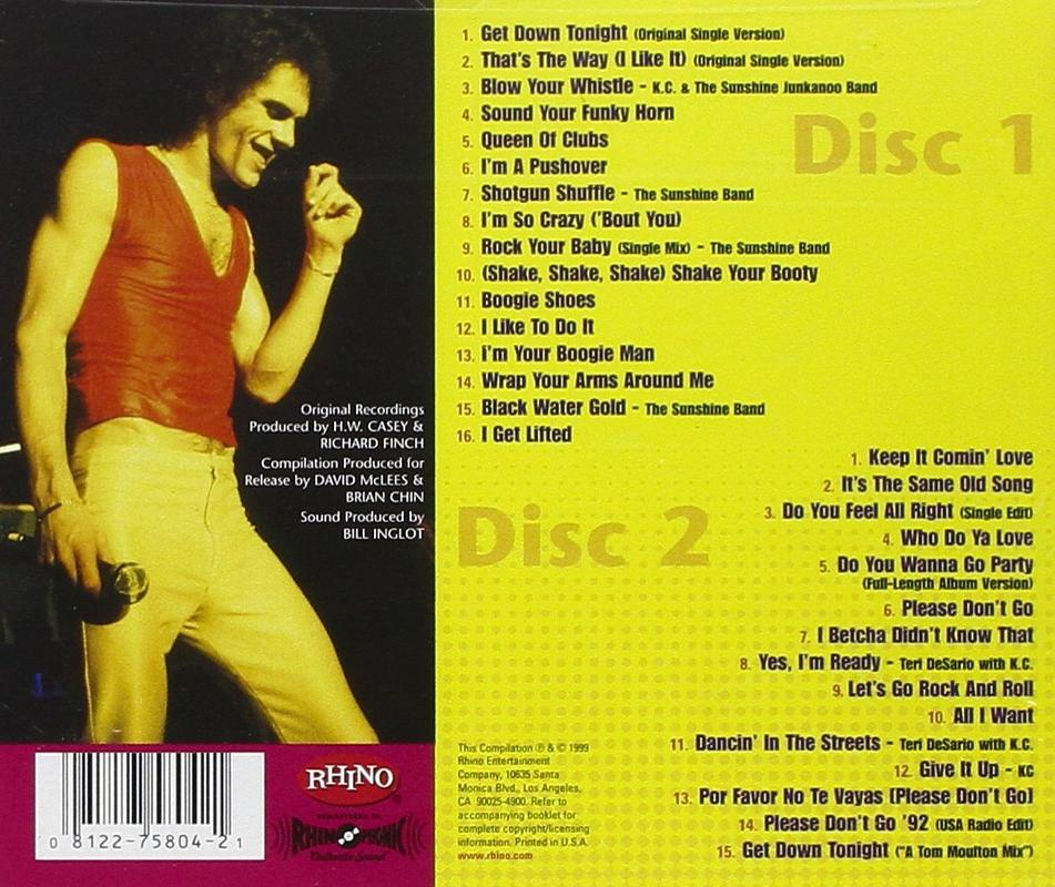 KC and The Sunshine Band 25-25