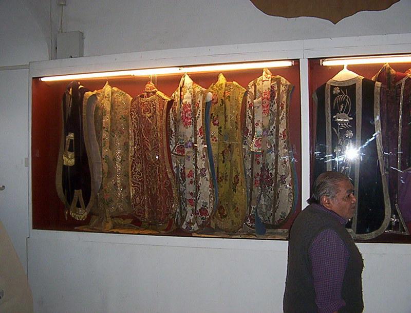 UNA VISITA AL MUSEO DEL CONVENTO DE SAN FRANCISCO SALTA CASULLAS_SIGLO_XVIII
