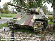 "Немецкий тяжелый танк PzKpfw V Ausf.G  ""Panther"",  rue D'Erezee, Manhay, Belgique Panther_Manhay_212"