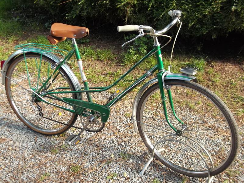 Motobecane dame vert métalisé CD3 1968 DSCF0541