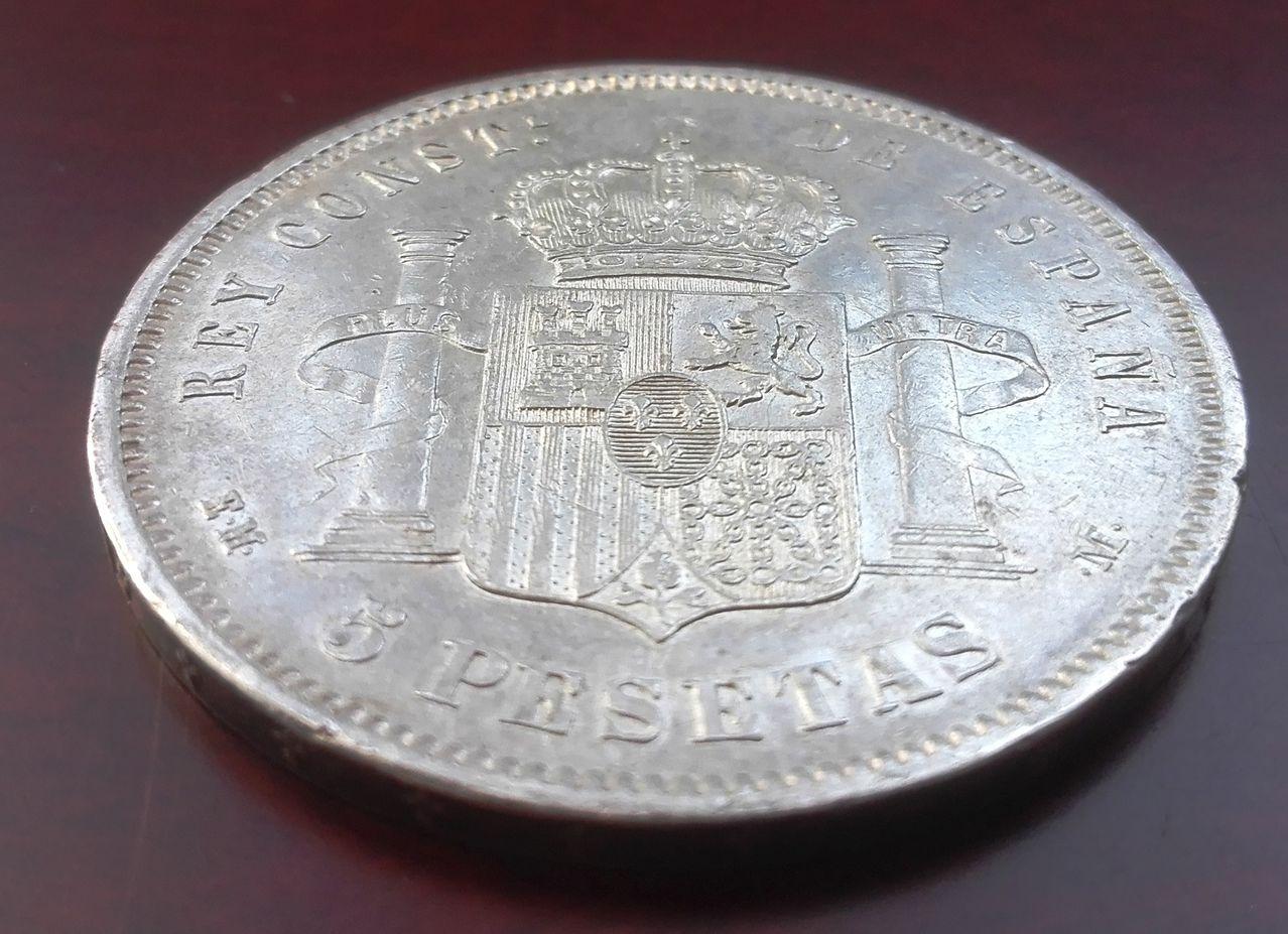 5 pesetas 1878 EM M, Alfonso XII 5_pesetas_1878_EMM_4