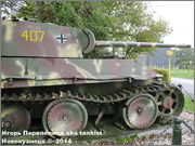 "Немецкий тяжелый танк PzKpfw V Ausf.G  ""Panther"",  rue D'Erezee, Manhay, Belgique Panther_Manhay_223"
