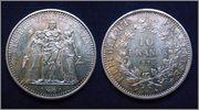 """Francia - 10 francos """"Hércules"""" - 1970 10_FR_FRANCIA_1970"""
