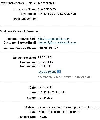 Guaranteedptc - guaranteedptc.com Guaranteedptcpayment