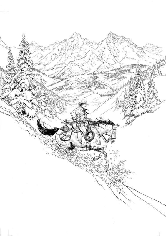 Sfida nel Montana (Tex d'autore n.4) 2d18ozk