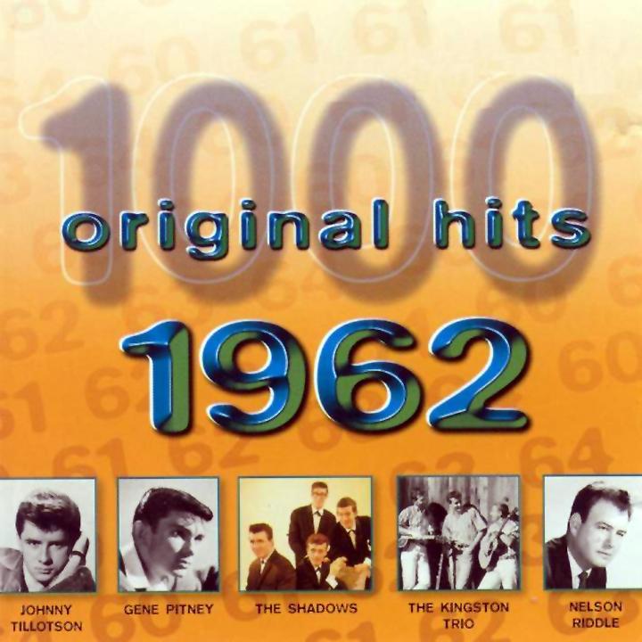 1000 Original Hits 1960-1999  1000_Original_Hits_1962_-_Front