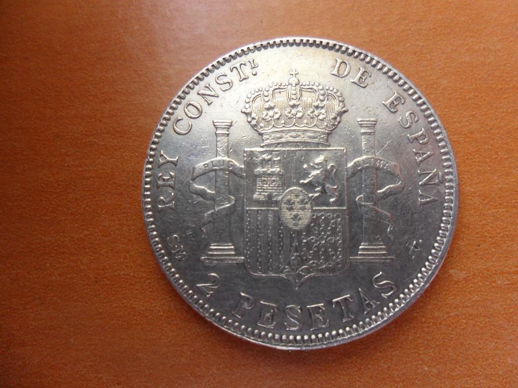 2 pesetas 1905 *19*05 Alfonso XIII - SM V - 006