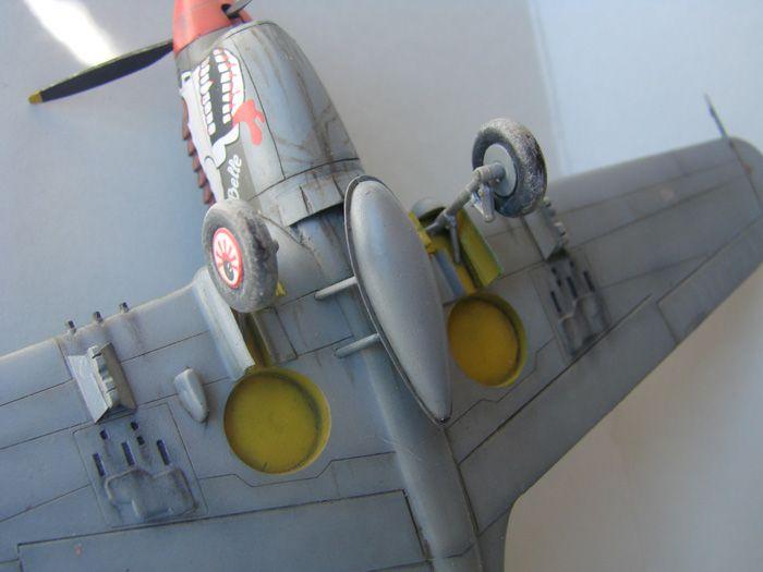P-40N(rebuild), Hasegawa, 1/72 DSC03751