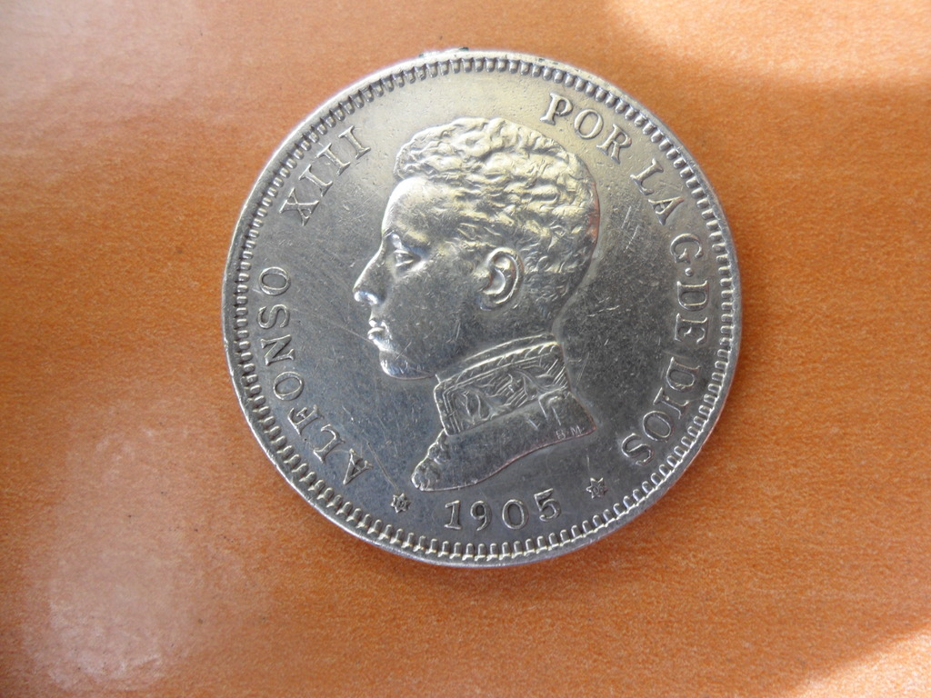 2 pesetas 1905 *19*05 Alfonso XIII - SM V - 005