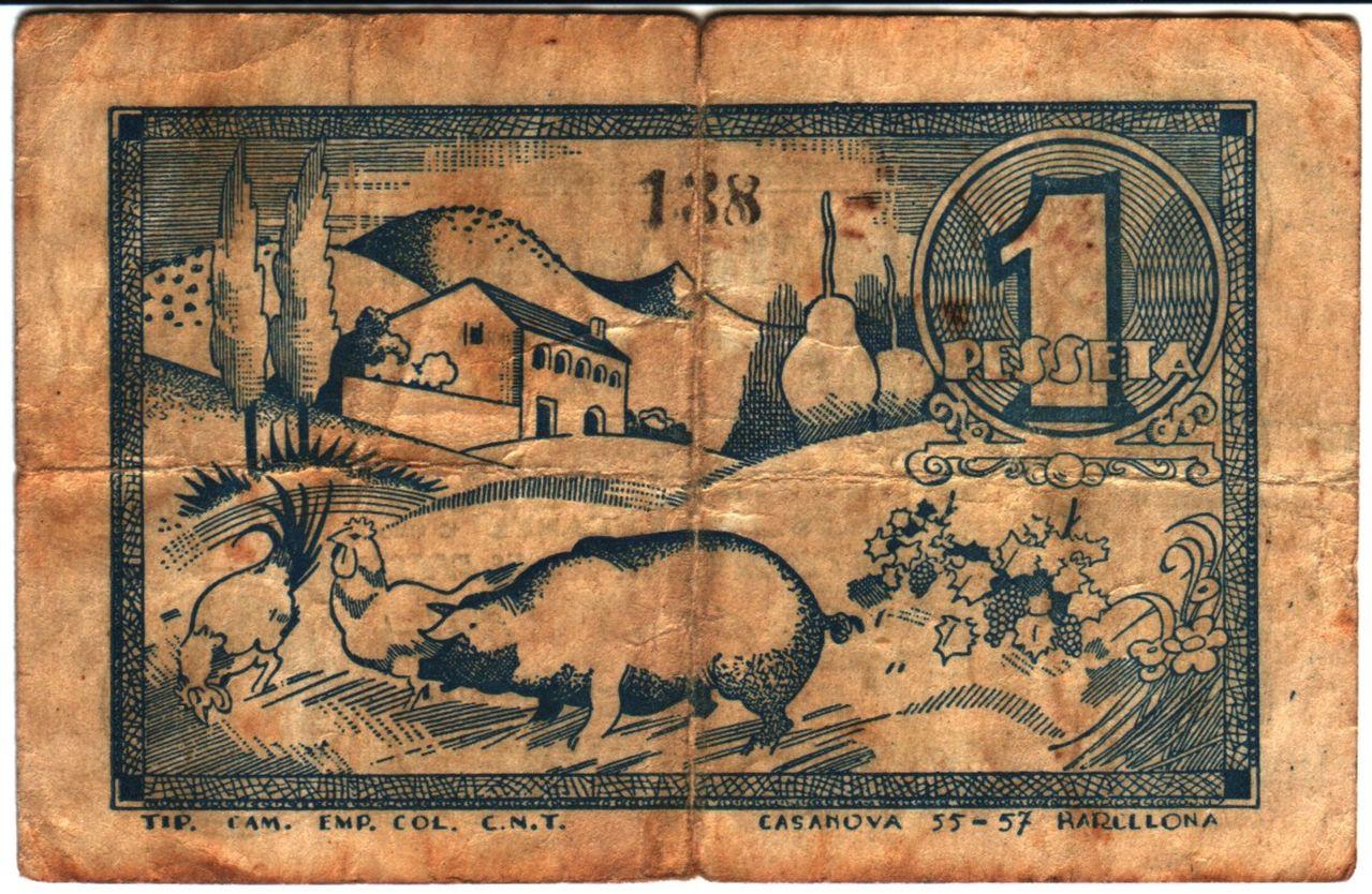 500 francos Rwanda, 2013 Cerdo
