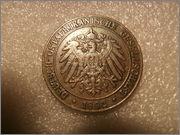 1 pesa 1892 África Oriental Alemana PC060073