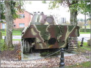 "Немецкий тяжелый танк PzKpfw V Ausf.G  ""Panther"",  rue D'Erezee, Manhay, Belgique Panther_Manhay_217"