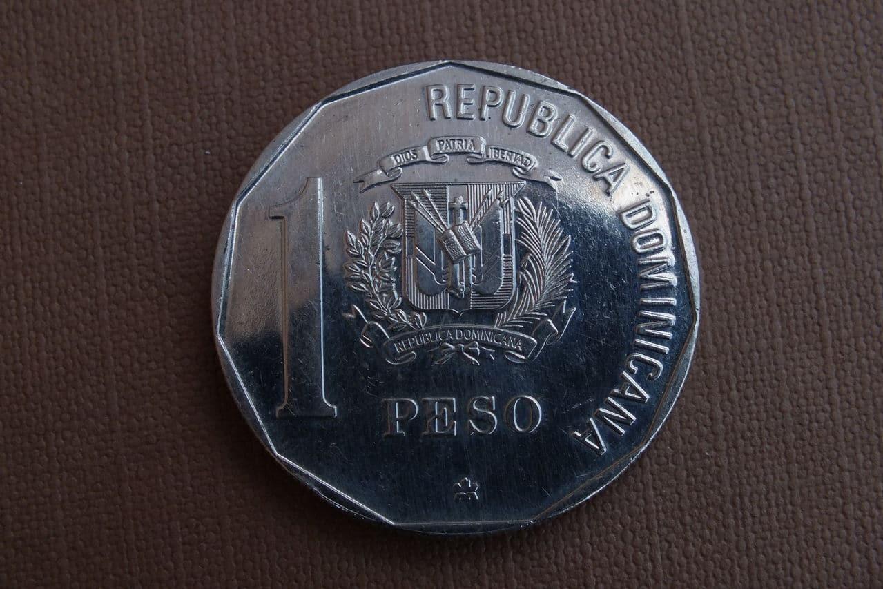 1 Peso. República Dominicana. 1989. Ottawa DSCF1446