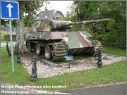 "Немецкий тяжелый танк PzKpfw V Ausf.G  ""Panther"",  rue D'Erezee, Manhay, Belgique Panther_Manhay_207"