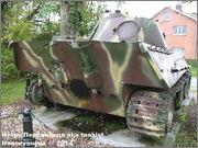"Немецкий тяжелый танк PzKpfw V Ausf.G  ""Panther"",  rue D'Erezee, Manhay, Belgique Panther_Manhay_219"