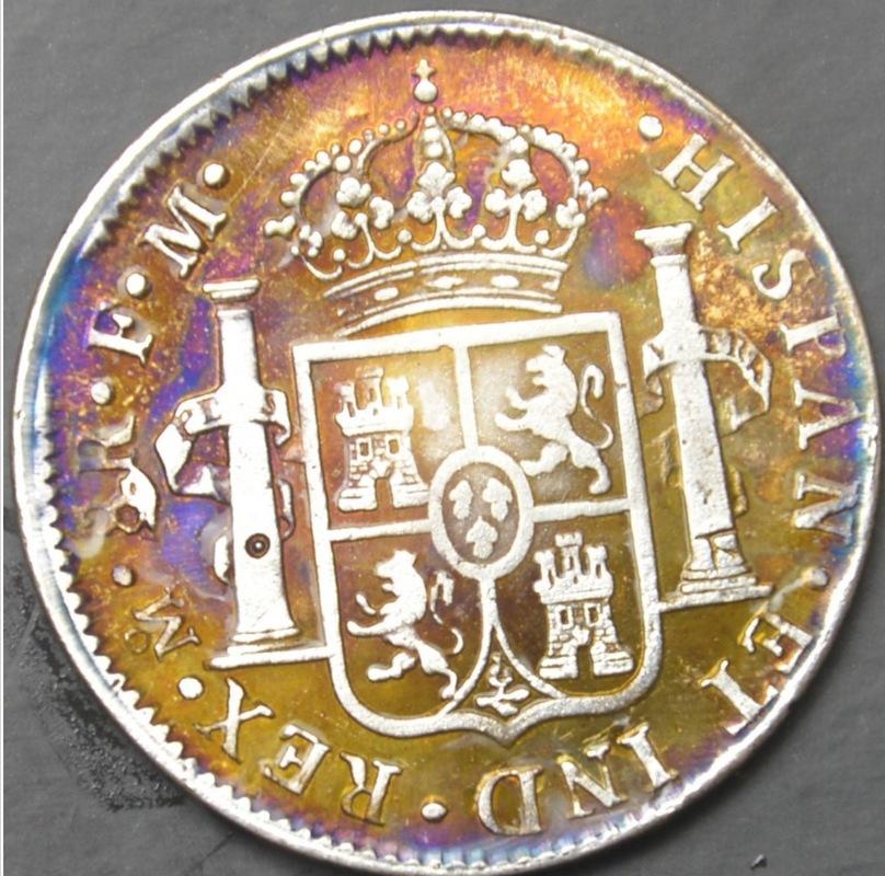 8 Reales 1790 Méjico Busto de Carlos IV IMG_3703