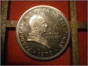 1 peso Filipinas 1970 visita papal PB010451